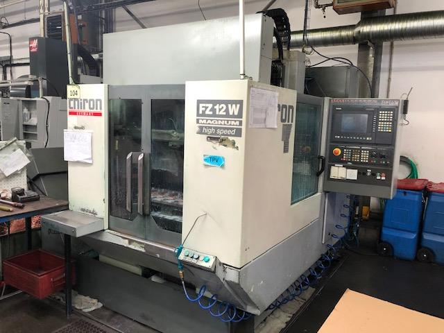 Machining centres - vertical - FZ 12 W