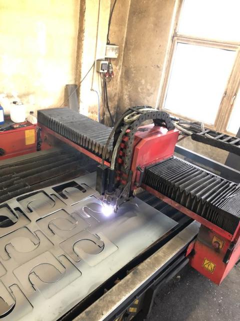 Flame cutting machines - plasmas - Nessap 1600 Klima