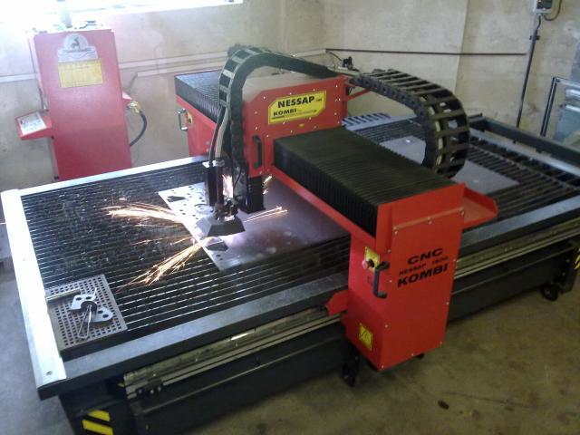 Flame cutting machines - plasmas - 1600 Kombi PLUS