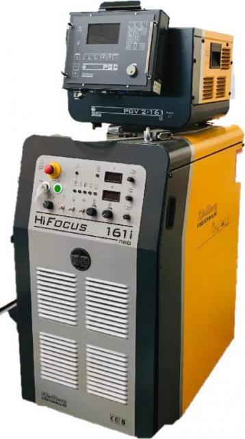 Pálící stroje - plasmy - HiFocus 161i