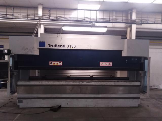Presses - brake - TruBend 3180