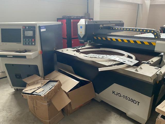 Flame cutting machines - lasers - KJG - 1530DT