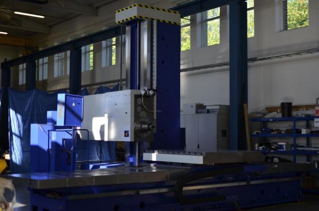Horizontálne vyvrtávačky - stolové - WHN 13.8 CNC