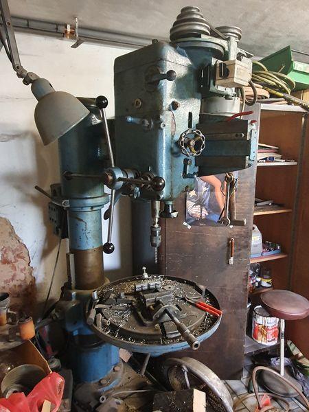 Drilling machines - peedestal - Vrtačka