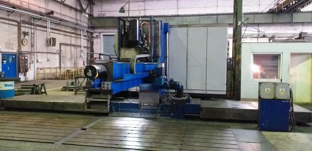 Horizontálne vyvrtávačky - stolové - VSP 50 CNC