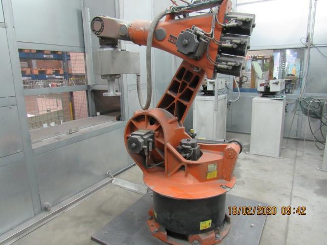 Other machines - others - Brousící robotické pracoviště KR 125/3