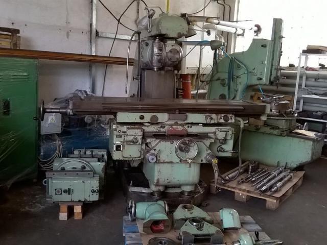 Milling machines - universal - FA 5AU