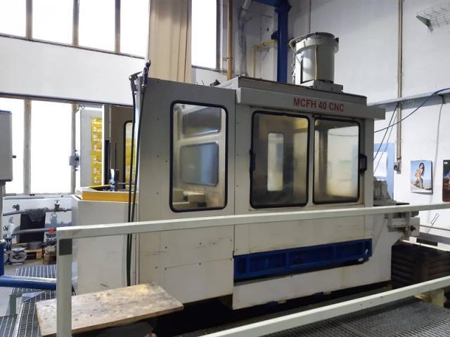 Obrábacie centrá - vertikálne - MCFH 40 CNC