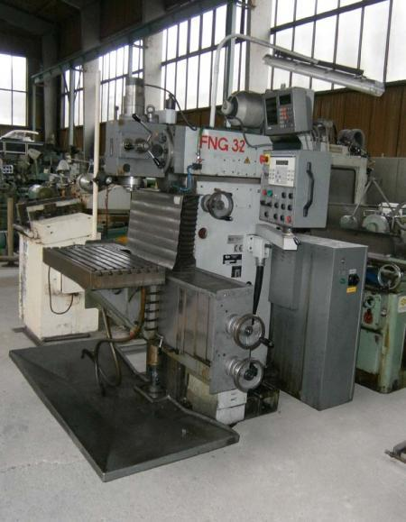Milling machines - tool - FNG 32