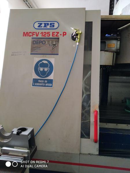 Obráběcí centra - vertikální - MCFV 125 EZ-P