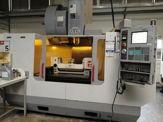 Machining centres - vertical - VF 5/50 HE