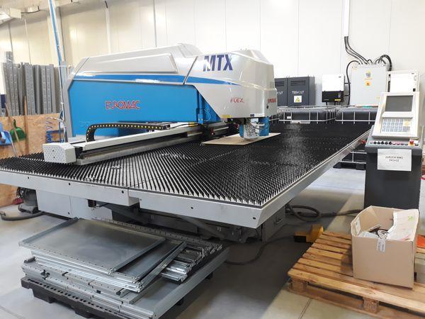 Ostatné stroje - vysekávacie stroje - MTX 6 Flex - 1250-2500 CNC