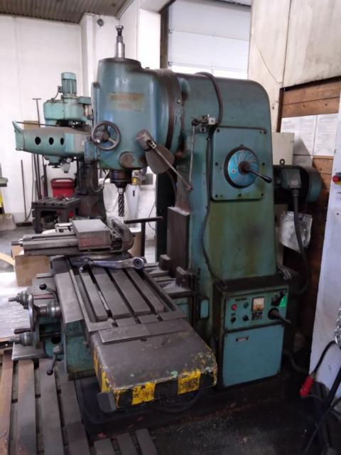 Milling machines - vertical - FA 4AV