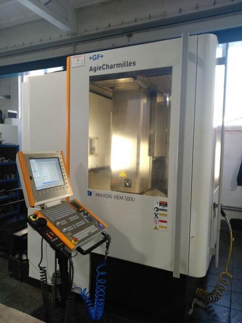 Machining centres - vertical - HEM 500U