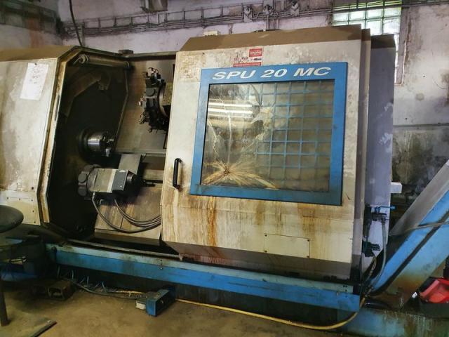 Sústruhy - CNC - SPU 20 MC
