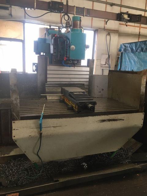 Milling machines - CNC - FNG 63 CNC