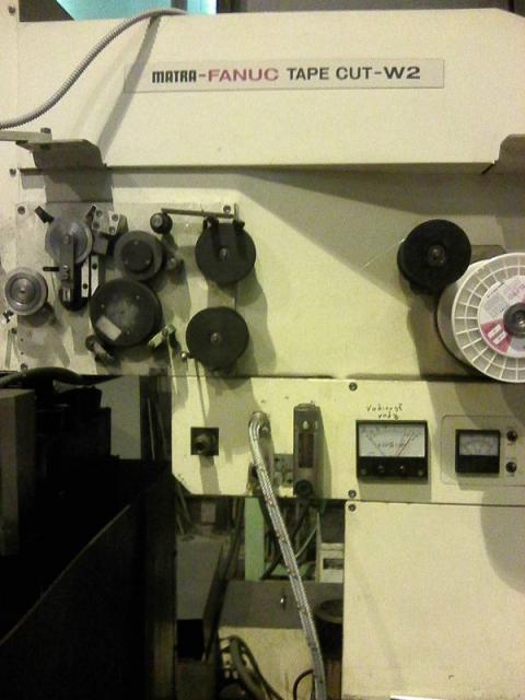 Ostatné stroje - drôtové rezačky - MATRA TAPE CUT W2