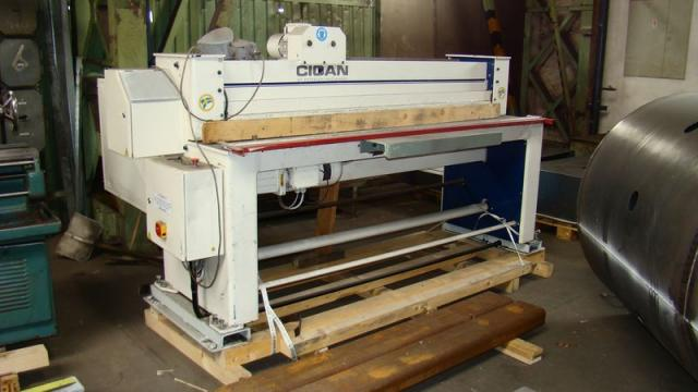 Shears - plate - CIDAN HSM F20 - 3,0