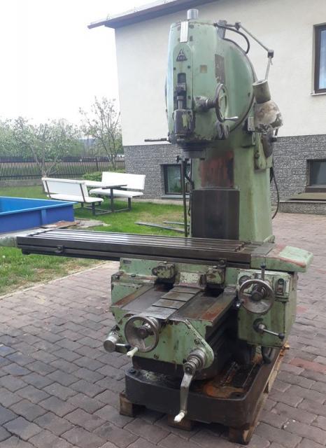 Milling machines - vertical - FA 4AV