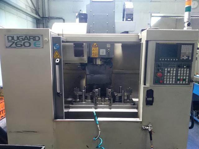 Machining centres - vertical - Dugard 760E