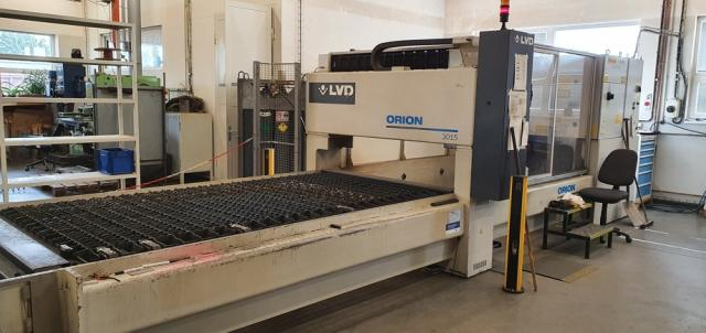 Flame cutting machines - lasers - ORION 3015