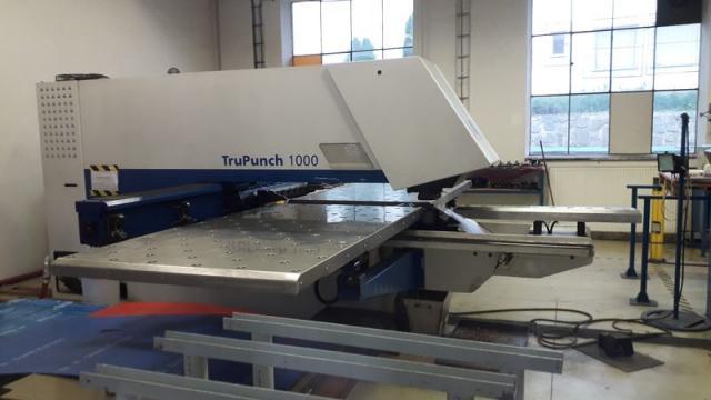 Ostatné stroje - vysekávacie stroje - Trumatic TruPunch 1000