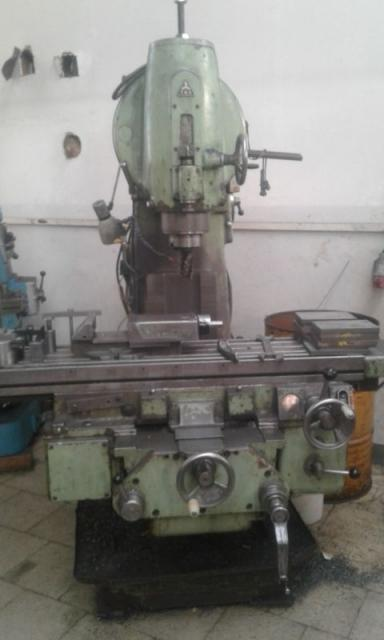 Milling machines - vertical - FA 4V