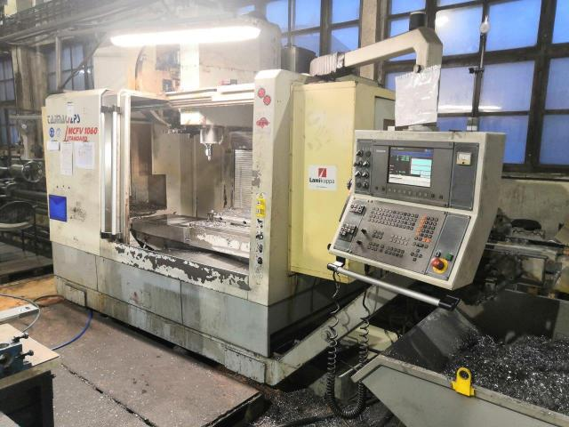 Machining centres - vertical - MCFV 1060