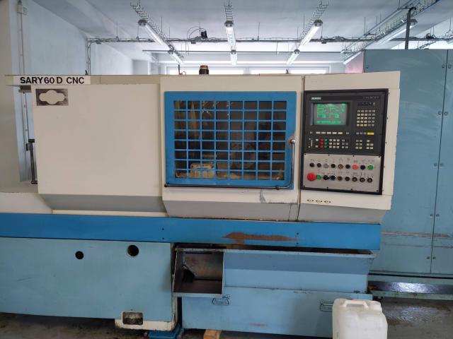 Lathes - CNC - SARY 60D CNC