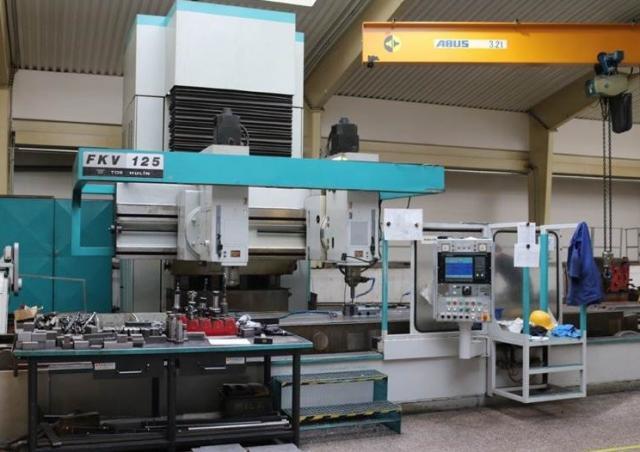 Milling machines - CNC - FKV 125