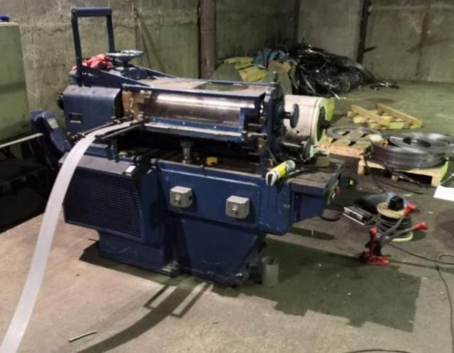 Other machines - others - Dělící linka plechu