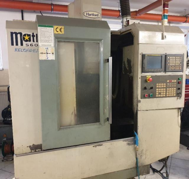 Machining centres - vertical - VMC 560 AH