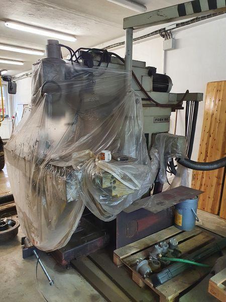 Milling machines - vertical - FGSV 50 NCP