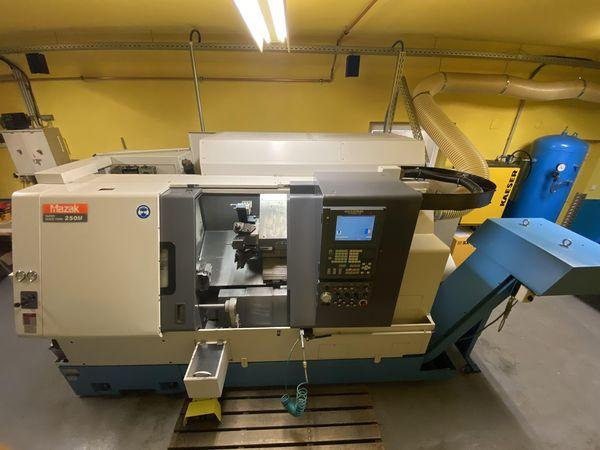 Lathes - CNC - Super Quick Turn 250M Universal 1000