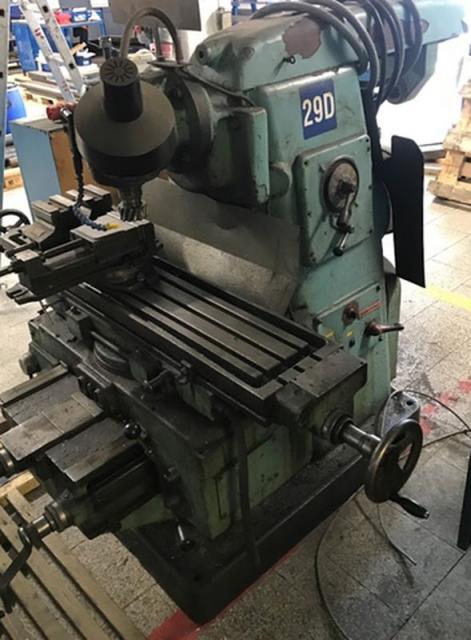 Milling machines - vertical - CSP 1 PO