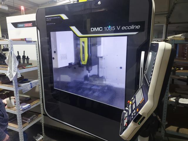 Obrábacie centrá - vertikálne - DMC 1035 V ecoline