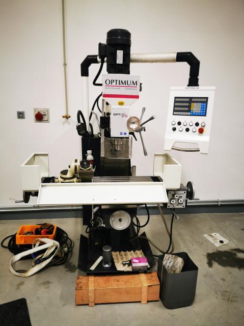 Milling machines - universal - OPTI MIL 50