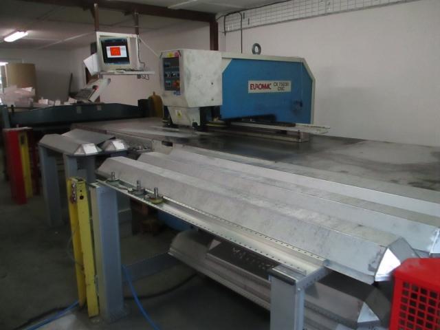 Ostatné stroje - vysekávacie stroje - CX 750/30 CNC