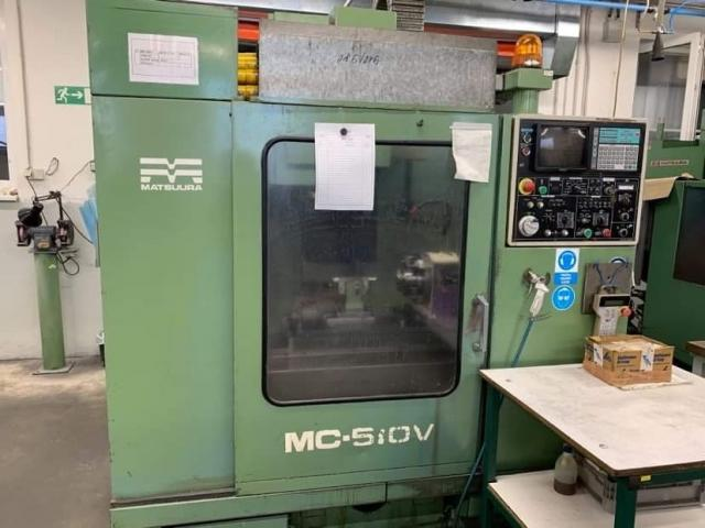 Machining centres - vertical - MC 510V