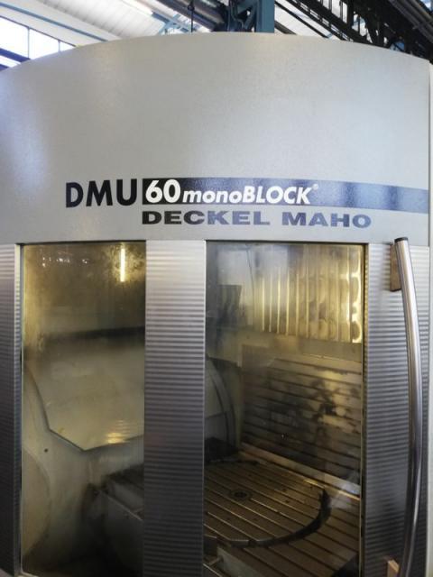 Obrábacie centrá - vertikálne - DMU 60 monoBLOCK