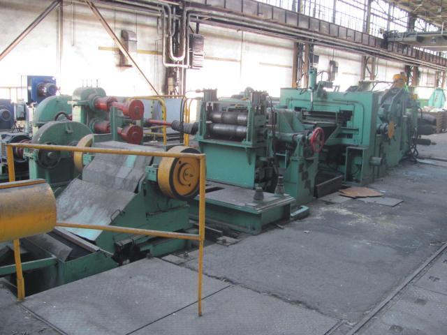 Ostatní stroje - ostatní - Dělící linka ocelového pásu DL 500