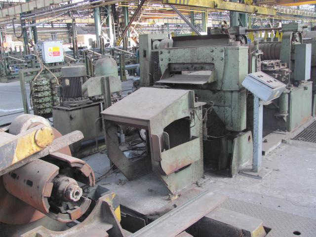 Ostatní stroje - ostatní - Dělící linka ocelového pásu LTA 500