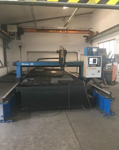 Flame cutting machines - plasmas - ARENA 20/35