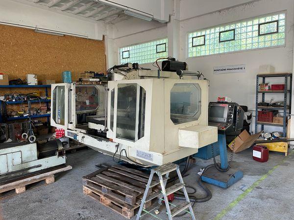Frézky - CNC - FGS 63B CNC
