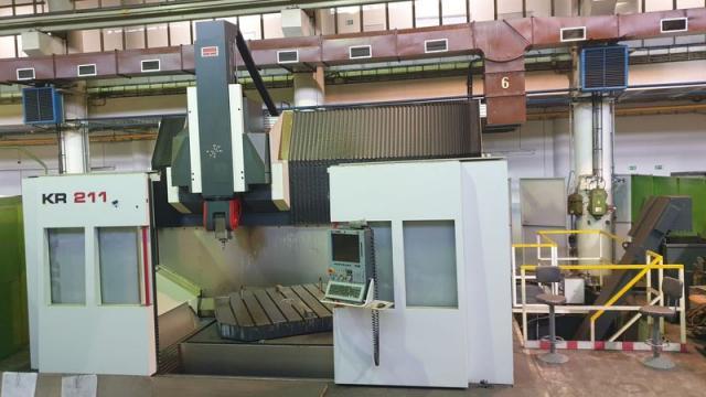 Frézky - CNC - KR 211