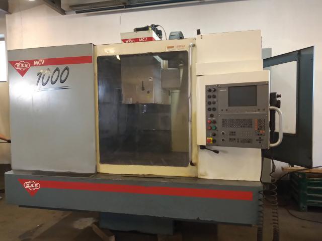 Machining centres - vertical - MCV 1000