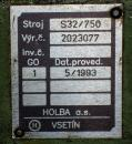 Soustruhy - hrotové - S 32/750