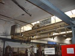 Ostatní stroje - jeřáby - Mostový jeřáb 3,2t